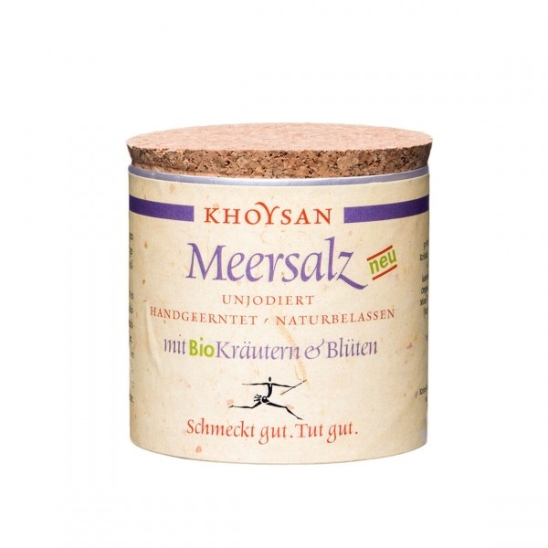 Khoysan Meersalz - Kräuter und Blüten, 200g