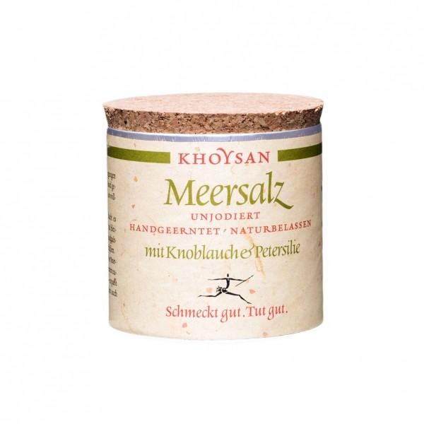 Khoysan Meersalz - Knoblauch und Petersilie, 200g