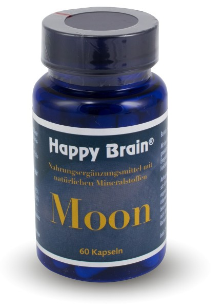 Happy Brain Moon