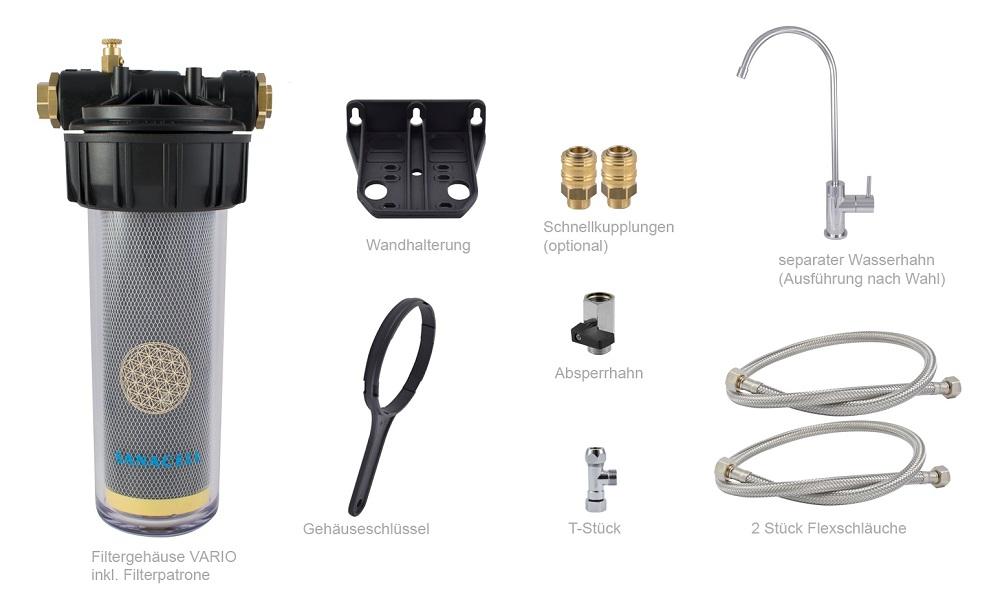 Lieferumfang-Trinkwasserfilter-separater-Hahn