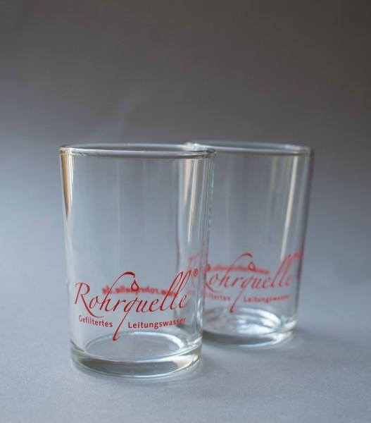 Rohrquelle Set 2 Gläser, 70 ml